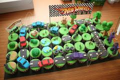 Hotwheels Cupcakes