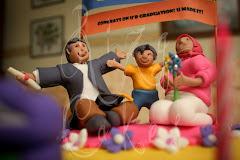 Cupcakes - Fondant - Graduation