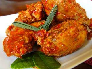 ayam bakar rica resep masakan indonesia