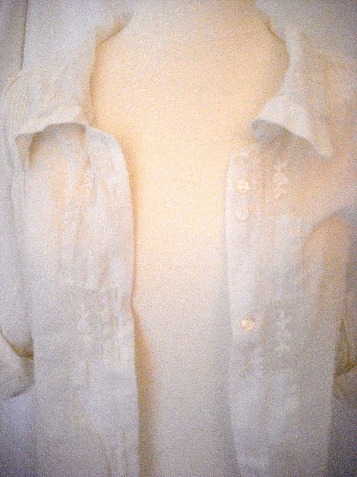 Vintage white shirt S