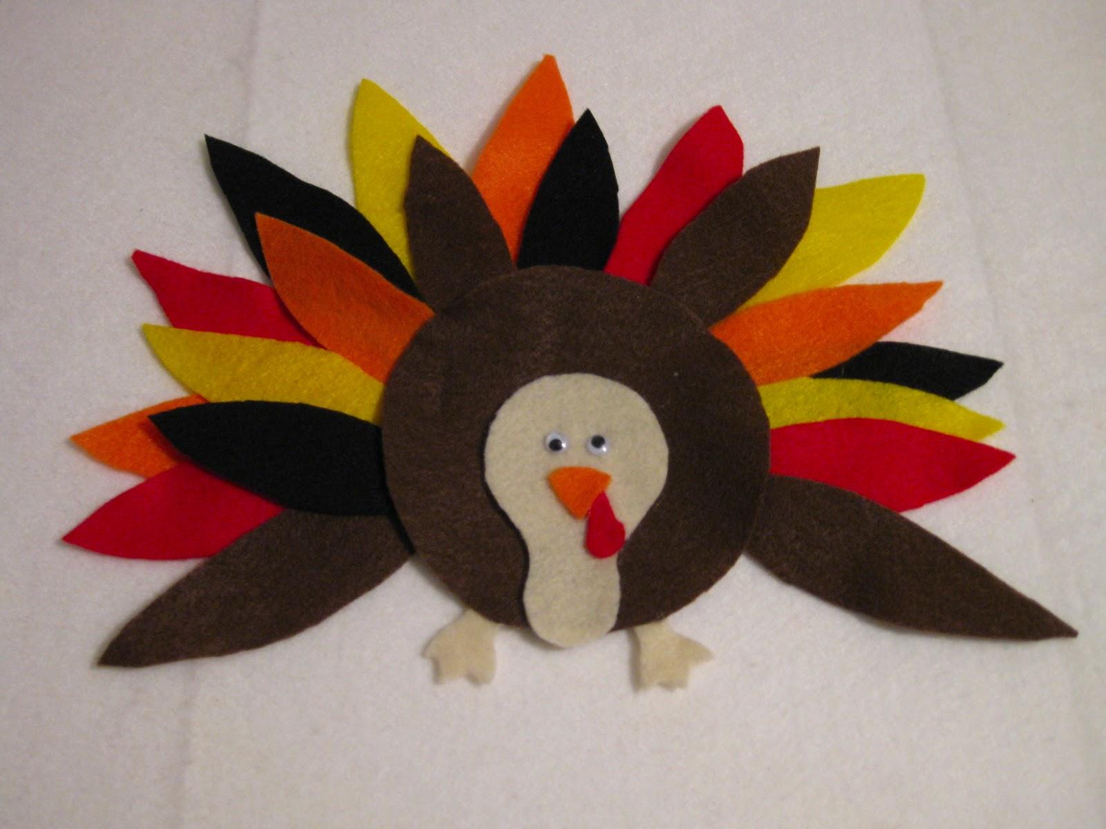 Make a felt board and fun felt turkey maxwellsz
