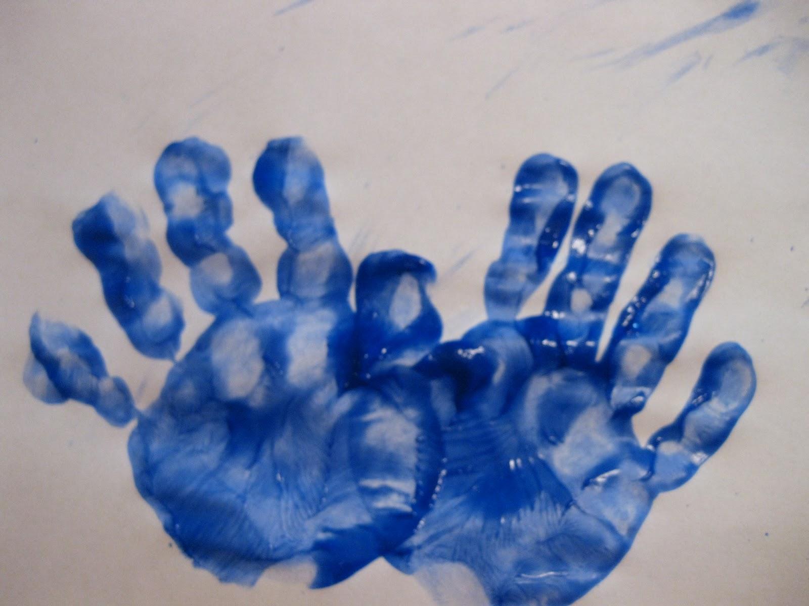 Uncategorized Handprint Menorah easy hanukkah crafts