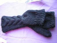 bella glitten mittens for ravelympics