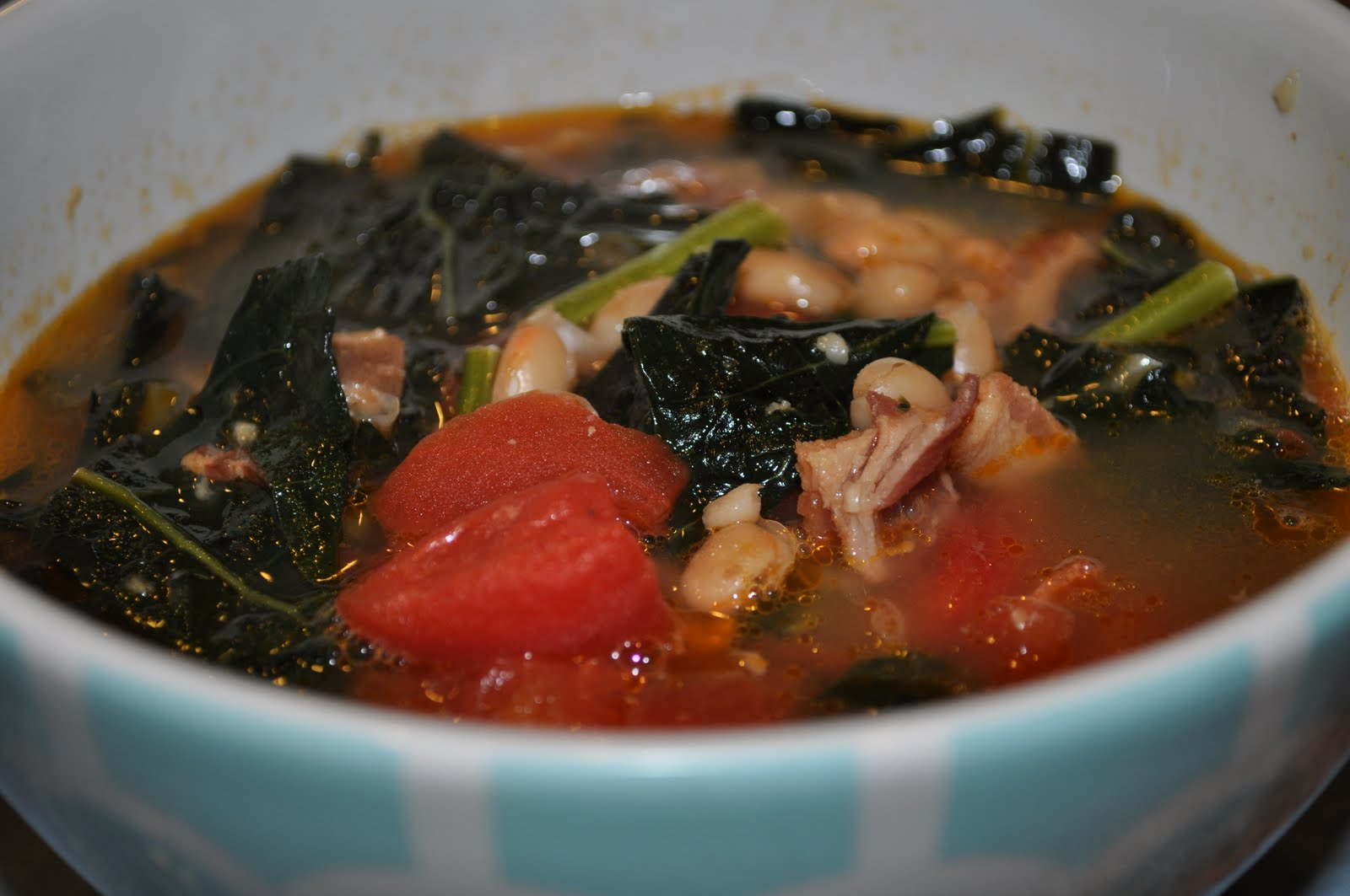 Kale And Cannellini Soup Recipe — Dishmaps
