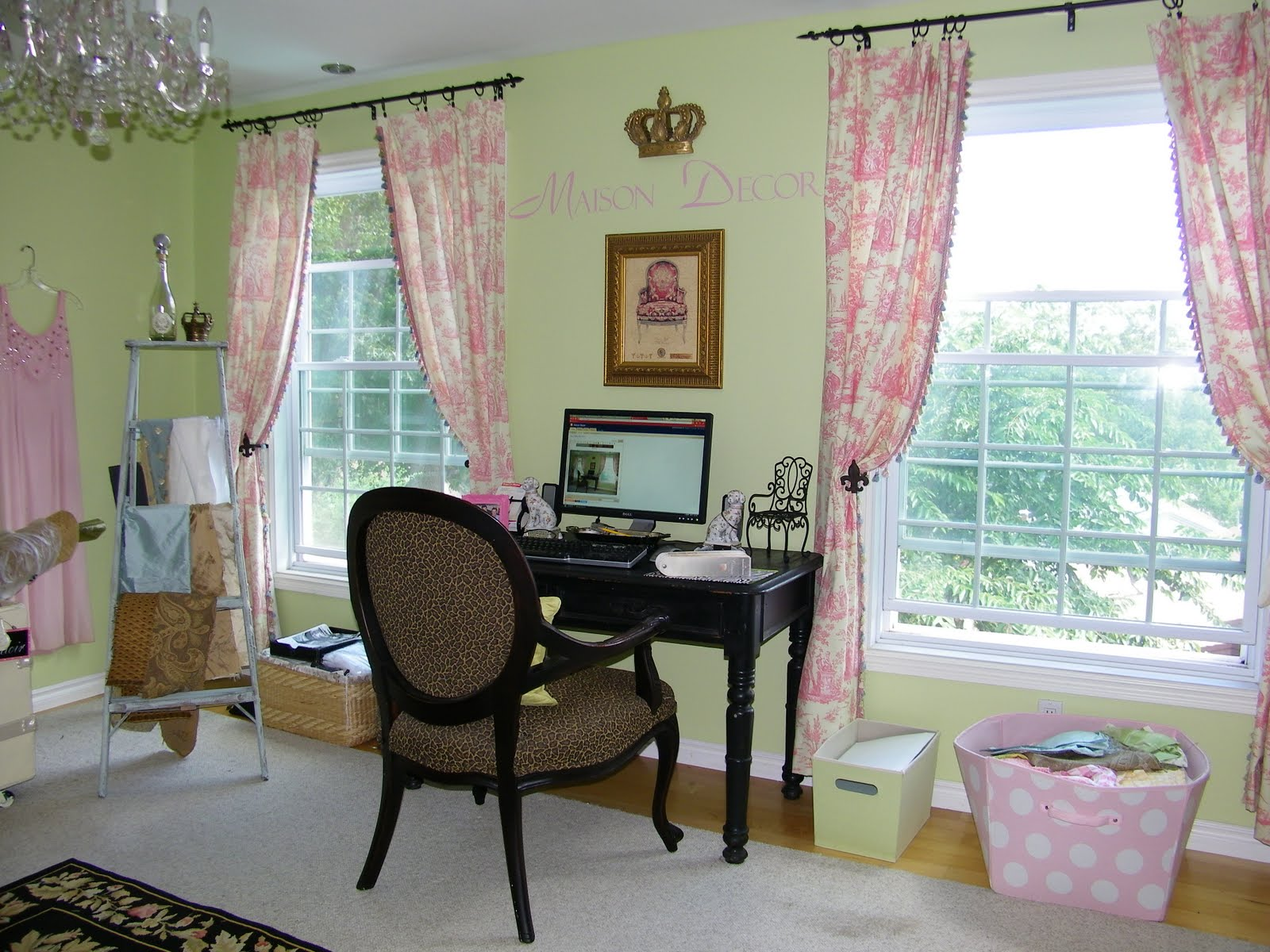 Marie Antoinette Inspired Bedroom Maison Decor Marie Antoinette Meets Maison Decor In New Home Office