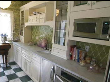 Kirstie Alley's Hollywood kitchen