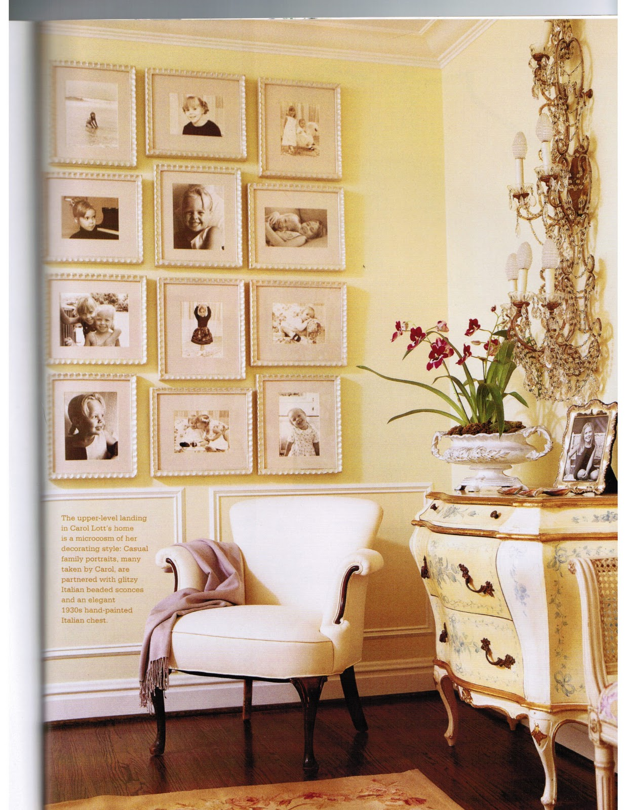 this home from country french magazine caught my attention