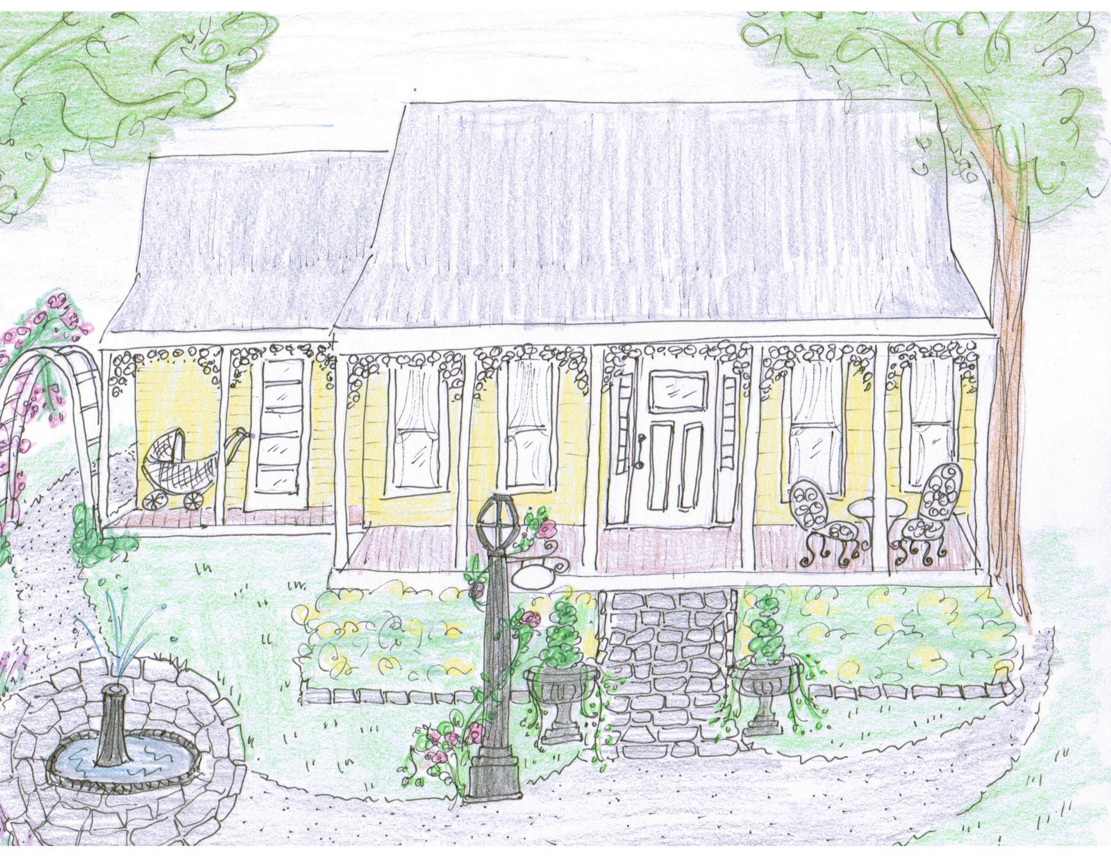 Maison Decor First Giveaway Sketch