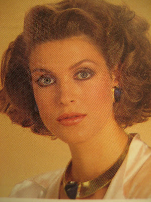 1980s hair earrings makeup