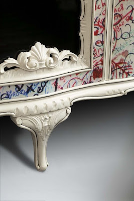 Graffiti Furniture by Anna James