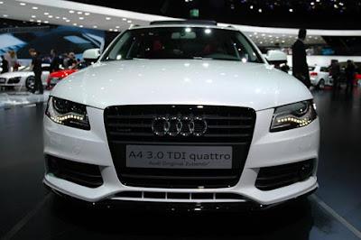 2009 Frankfurt Auto Show - 2010 Audi A4 3.0 TDI