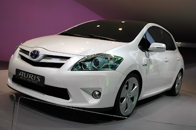 Frankfurt motor show - Toyota Auris HSD Full Hybrid