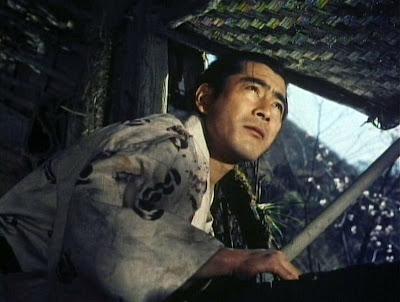 Toshiro Mifune em 'Samurai II', de Hiroshi Inagaki