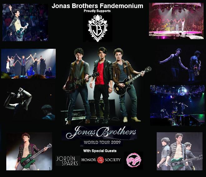 Jonas Brothers Fandemonium