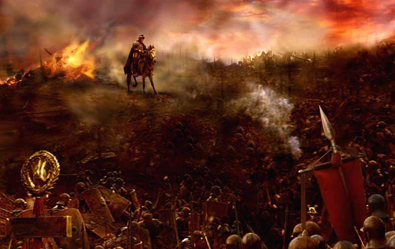 Hannibal against the roman army