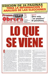 Prensa Obrera 1089