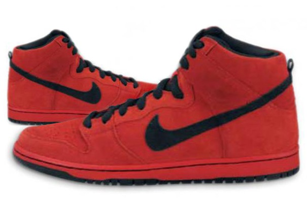 Nike High Tops Black And Red. We know this high top