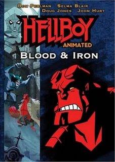 Filme poster HellBoy Sangue & Ferro DVDRip Dublado