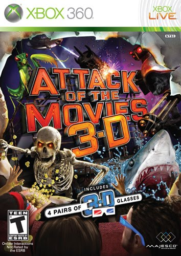 Download  Attack of The Movies 3D  XBOX 360