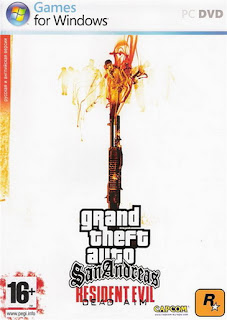 GTA+ +San+Andreas+ +Resident+Evil+Dead+AIM Download GTA San Andreas: Resident Evil Dead AIM 2008   Jogo PC