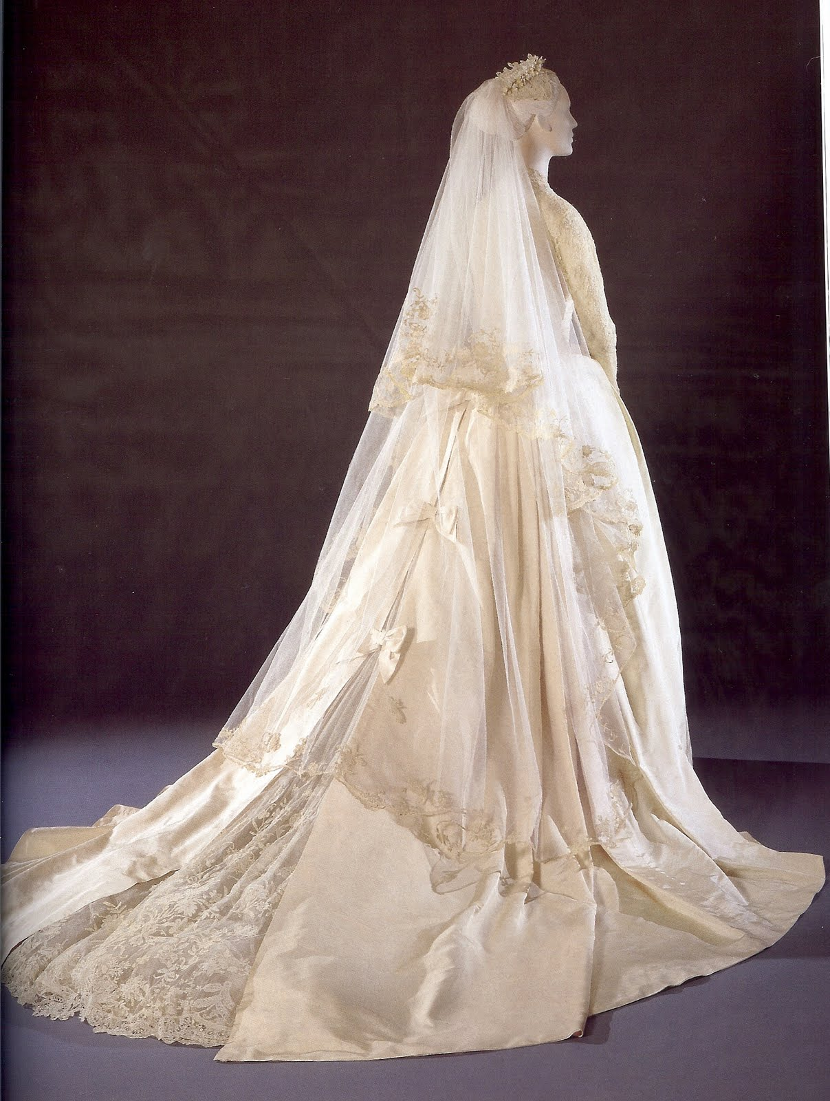 The detailling of the dress from the back is simply stunning in fact