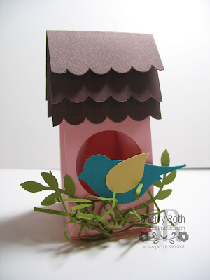 Mini Milk Carton Bird House