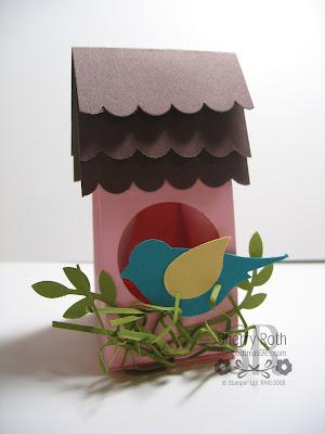 Mini Milk Carton Bird House