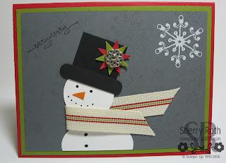 Snowman Punch Card