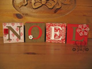 Decor Elements Christmas Blocks