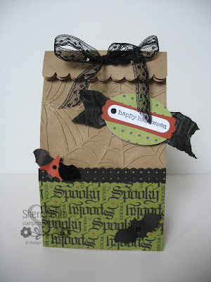 Halloween Mini Lunch Sack