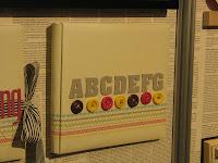 Sweet Stitches ABC Album