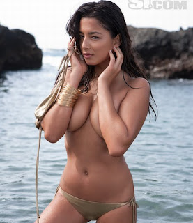 Jessica Gomes Sports Illustrated Swimsuit