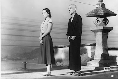 Setsuko Hara (left) and Chish Ry in Tokyo Story