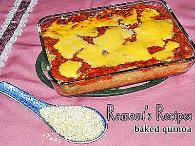 Baked Quinoa - Ramani's Recipes