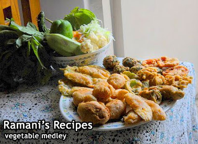 A Medley of Fried Vegetables - Ramani's Recipes