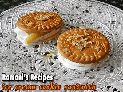 Ice Cream Cookie Sandwich - Tamani's Recipes