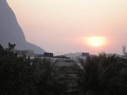 Nascer do dia na Barra da Tijuca