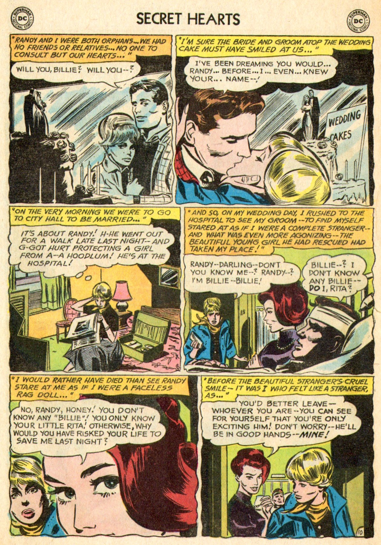 Read online Secret Hearts comic -  Issue #101 - 28