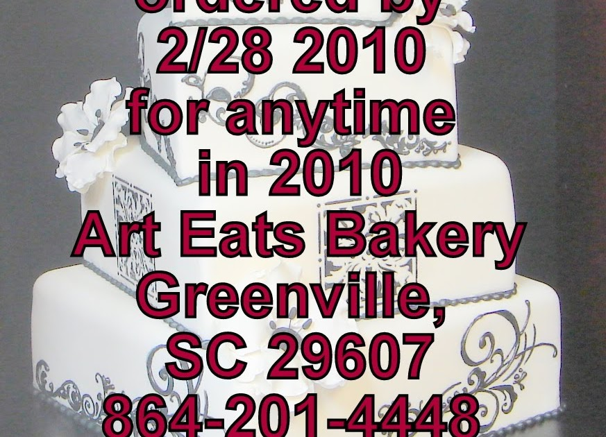 Coupon For Cake Art : Art Eats Bakery custom fondant wedding and birthday cake ...