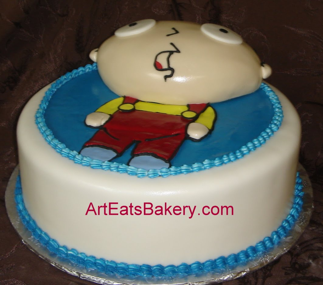 Birthday Cakes From Fondant Image Inspiration of Cake and