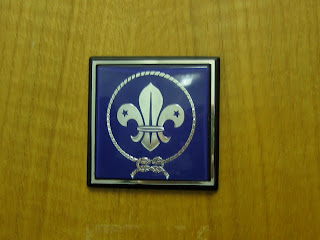 Door marker at WOSM HQ
