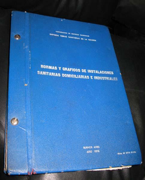 Manual Obras Sanitarias de la Nación - OSN  TapaOSNssIMG_9882ss