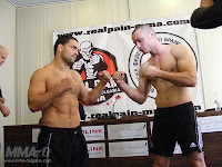 Conferenza Stampa e Weigh-In al Real Pain 4