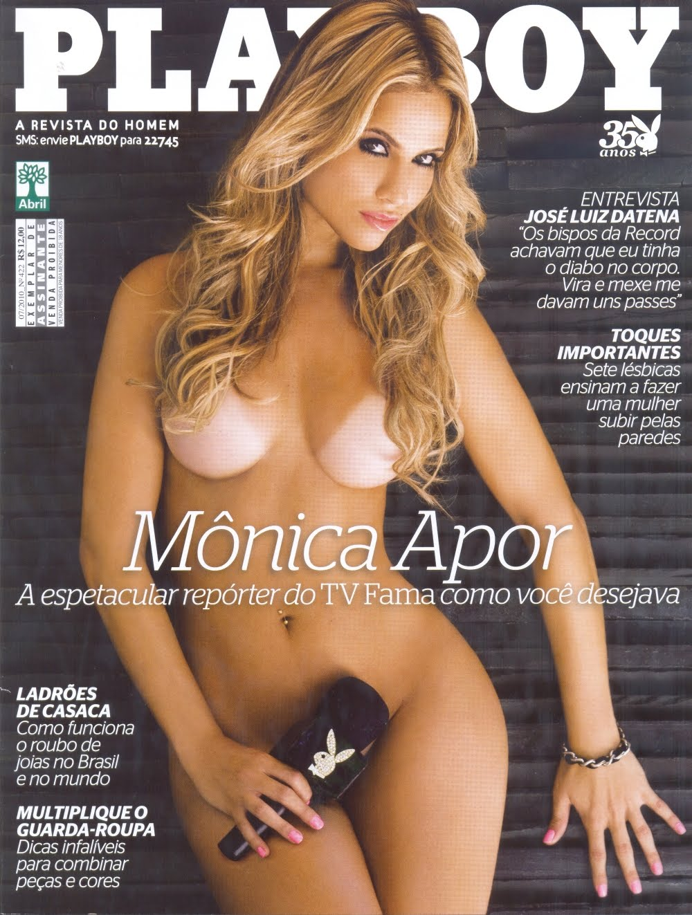 Monica Apor Playboy Brazil July
