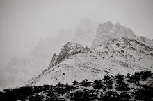 El Chalten through the mist