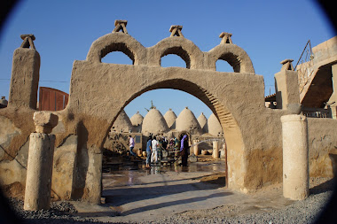Beehive houses in Harran village, southern Turkey