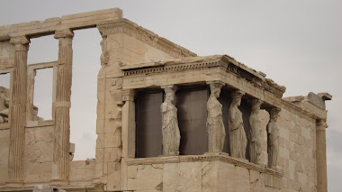 Caryatid maidens on the Acropolis