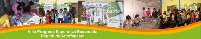 Villa Progreso Esperanza Escondida, Antofagasta