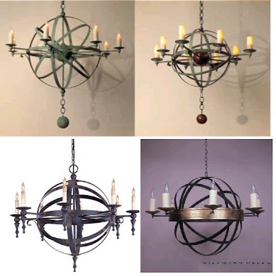 The steampunk home metal elements done well the armillary sphere chandelier may be a bit before the steampunk time but i think its great this one is made by solaria i found a couple of similar aloadofball Image collections