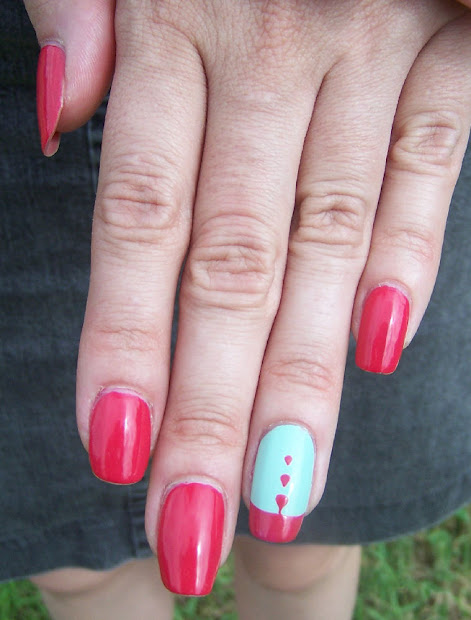 concrete and nail polish essence
